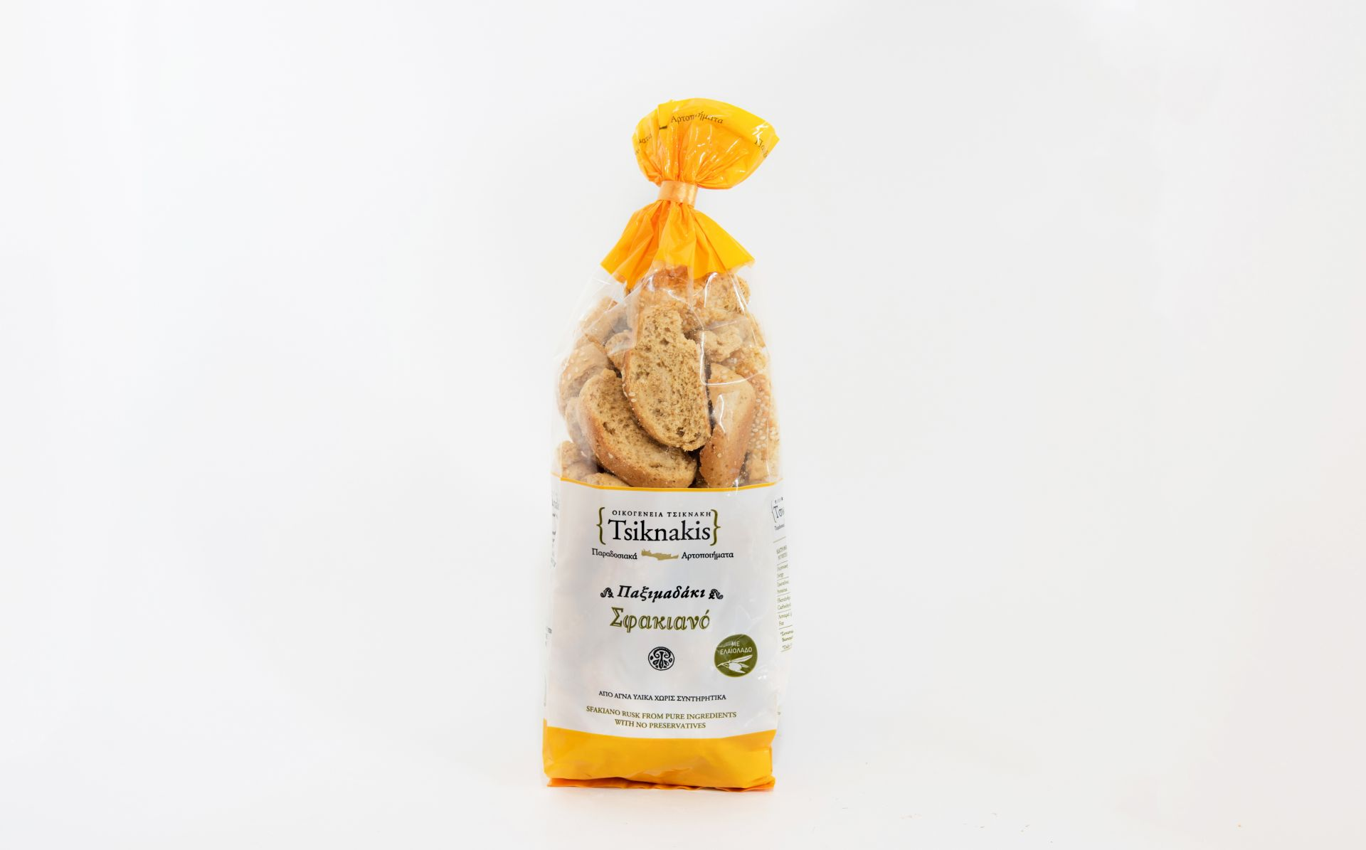 Sfiakiano Bread Rusks 400g Tsiknakis Greece